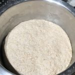 Fully proofed bread dough